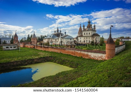Archangel Michael Monastery in Yuriev Polsky in the Vladimir region in Russia #1541560004