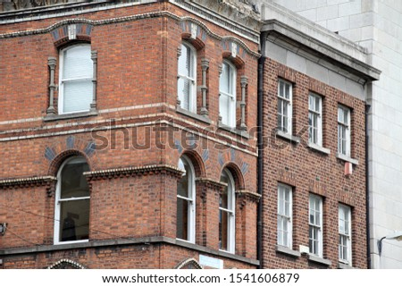 Building in the downtown of Dublin #1541606879