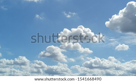 Image Of Clouds In The Sky  #1541668490