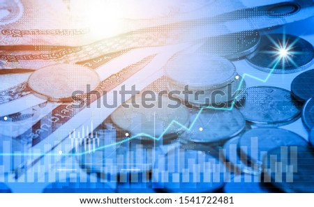 Coins, currencies, currencies and exchanges With technology #1541722481