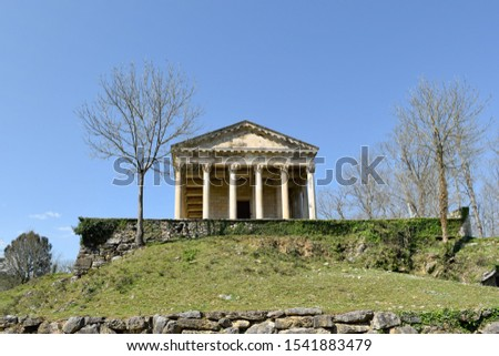 St. George's Church Parthenon of Las Fraguas. Classic temple in Cantabria (Spain) #1541883479