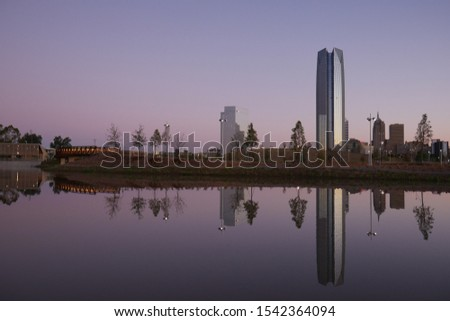 Cityscape of downtown Oklahoma City