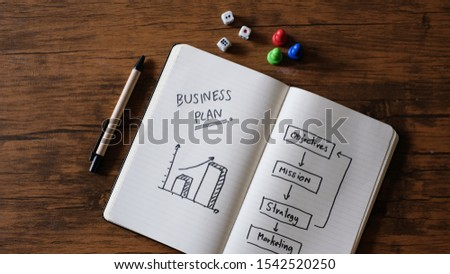 Business Plan with a strategy plan to be successful. #1542520250