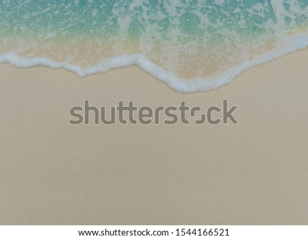 Blue ocean waves along the coast of the ocean background #1544166521