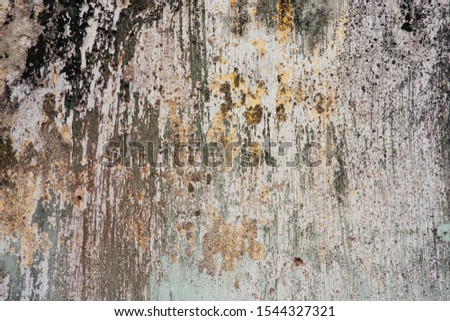 Old painted concrete wall for background texture #1544327321