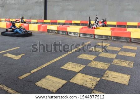 Kart speed rive indor race opposition race #1544877512