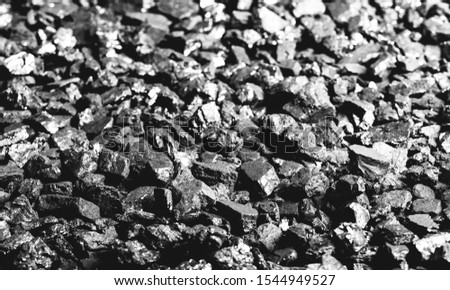 Palladium is a chemical element which at room temperature contracts in the solid state. Metal used in industry. Mineral extraction concept. #1544949527