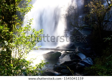 Natural waterfalls trees streams rocks streams tourist attractions waterfall Chiang Mai Thailand #1545041159