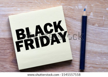 Black friday business text concept #1545557558