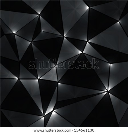 abstract geometric background with perspective shiny lights. ideal for cover design, techno concept works. cover designs