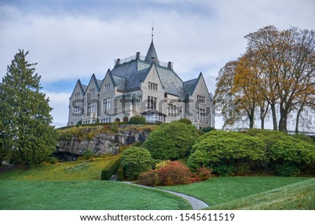 Gamlehaugen is a mansion in Bergen, Norway, and the residence of the Norwegian Royal Family in the city. Gamlehaugen has a history that goes as far back as the Middle Ages