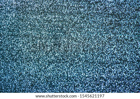 analog vintage screen tv signal with bad interference, static noise background, television wave channel #1545621197
