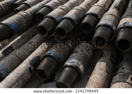 Pipes in the oil industry. Oil industry #1545798449