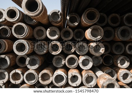 Pipes in the oil industry. Oil industry #1545798470