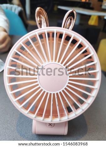 cooling cool rabbit summer electric fan machine fan  #1546083968