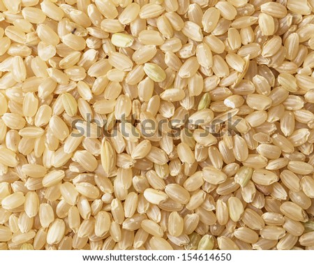 Brown rice background #154614650