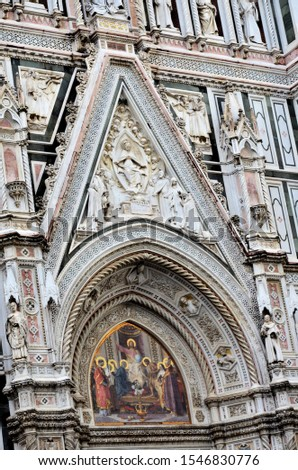 The historic cathedral of Florence #1546830776