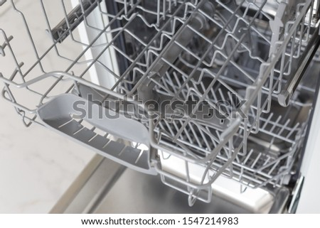 Shelf for plates in the dishwasher machine. #1547214983