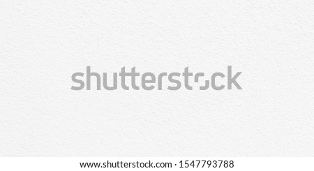 Wide image, White cement or concrete wall texture for background, Empty space. #1547793788