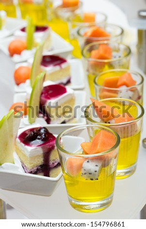 Catering food #154796861