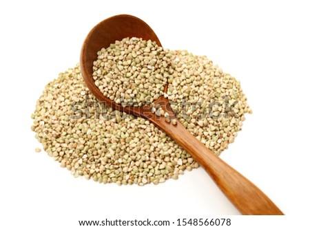 buckwheat isolated on white background #1548566078