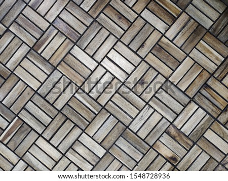 abstraction of wooden rectangles and squares #1548728936