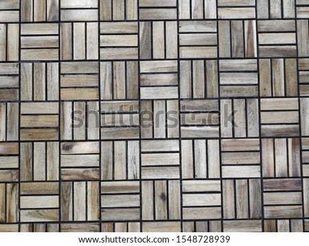 abstraction of wooden rectangles and squares #1548728939