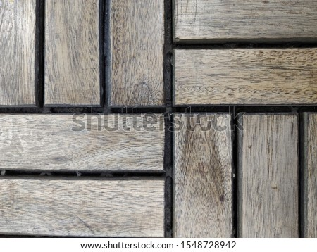 abstraction of wooden rectangles and squares #1548728942