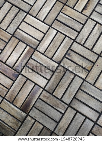 abstraction of wooden rectangles and squares #1548728945