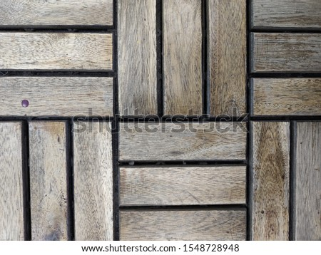 abstraction of wooden rectangles and squares #1548728948