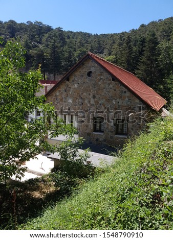 Trooditissa monastery in Troodos mountain  #1548790910