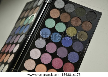 make up eyeshadow colorful palette cosmetics #1548816173