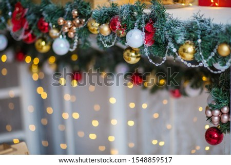 festive christmas and new year decorations #1548859517