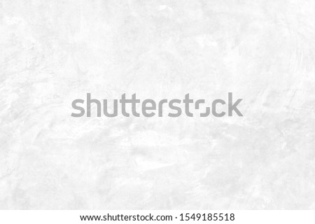 White concrete stone surface paint wall background, Grunge cement paint texture backdrop, White rough concrete stone wall background, Copy space for interior design background, banner, wallpaper #1549185518