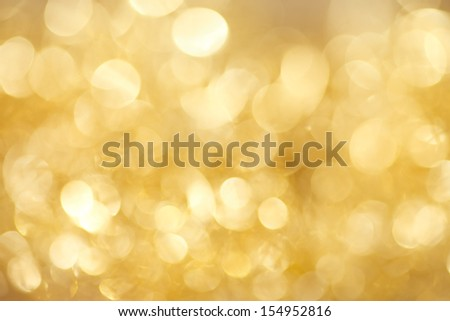 abstract  twinkled  gold christmas background  #154952816
