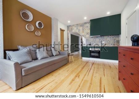 Modern European apartment Living room Interior design  #1549610504