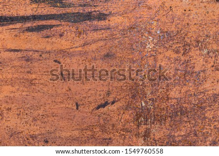 Rusty surface. Rusty metal grunge background #1549760558