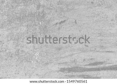 Rusty surface. Rusty metal grunge background in light gray tonality #1549760561