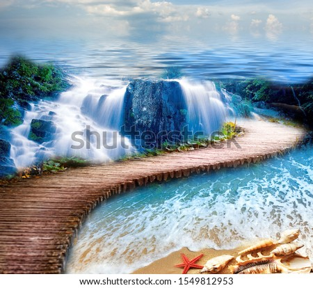 Waterfall - Flooring 3D - epoxy flooring