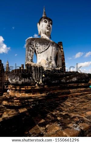 Buddha statue, Ayutthaya, Thailand, Southeast Asia, Asia #1550661296