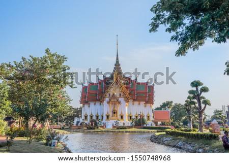 Bangkok Thailand-10 31 2019 : Ancient City  #1550748968