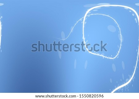 curved lines of white on a background of shades of blue #1550820596