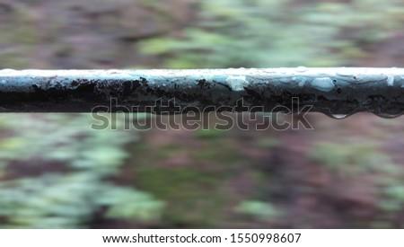 Grill Of Railway Window, Railway #1550998607