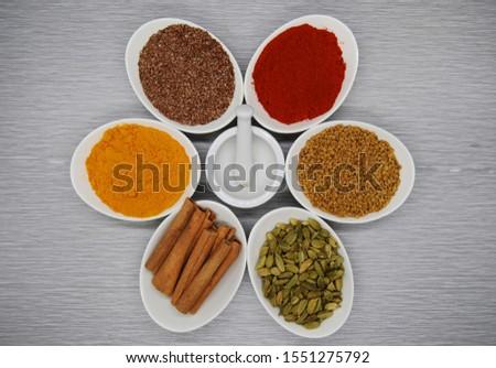 Healthy Spices Flax Seed, Chili Powder,  Fenugreek, Turmeric, more #1551275792