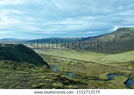 Iceland-outlook of the Haukadalur valley #1552713179