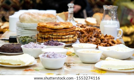 Buryat traditional dishes Buryatia food #1553274116