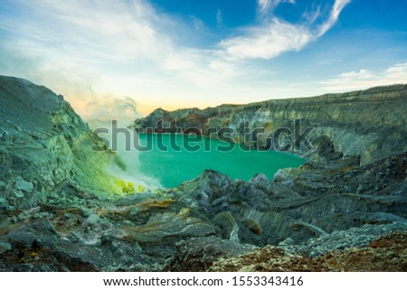 Traveling to Mount Ijen That has a strange landscape Amazing   #1553343416