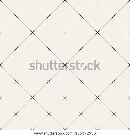 Vector seamless pattern. Modern stylish texture. Repeating geometric tiles of rhombuses #155372933