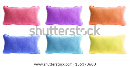 Isolated pillow #155373680