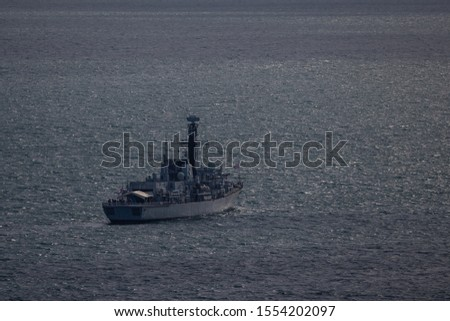 Naval vessels in Bournemouth bay #1554202097